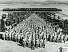 U.S. Army's 91st Infantry Division at Camp White, 1942.
