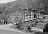 Walker Bridge, spanning Klamath River in Klamath National Forest, Siskiyou County, Calif., 1930s.