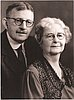Carrie Phinney Sweetser with Dr. Albert Radin Sweetser.