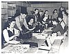 Creating the newspaper, Evacuazette, 1942