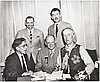 Old Oregon Trail Centennial commission, Philip Parrish, Charles Renolds, Leo Adler, Francis Lambert, Walter Meacham.