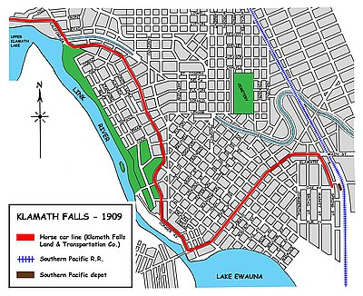 Klamath Falls Streetcar System