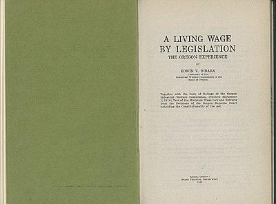 Oregon Industrial Welfare Commission - Oregon encyclopedia