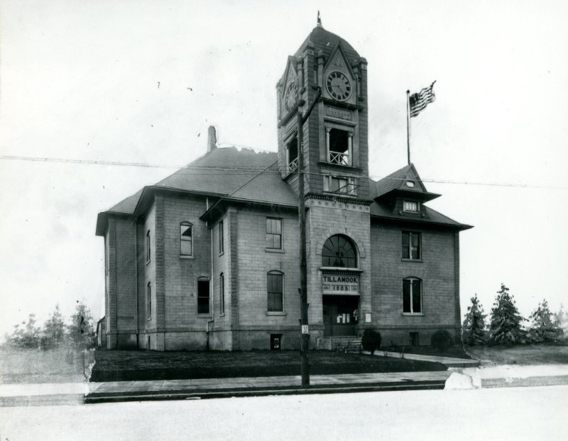 Tillamook County Courthouse, c.1910