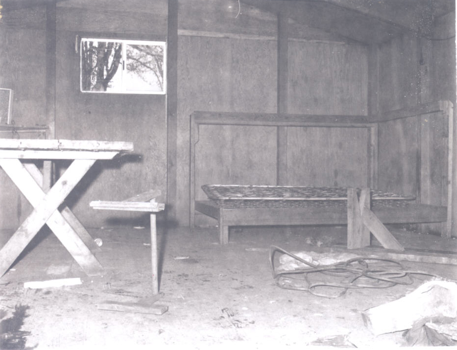 Interior of migrant worker housing